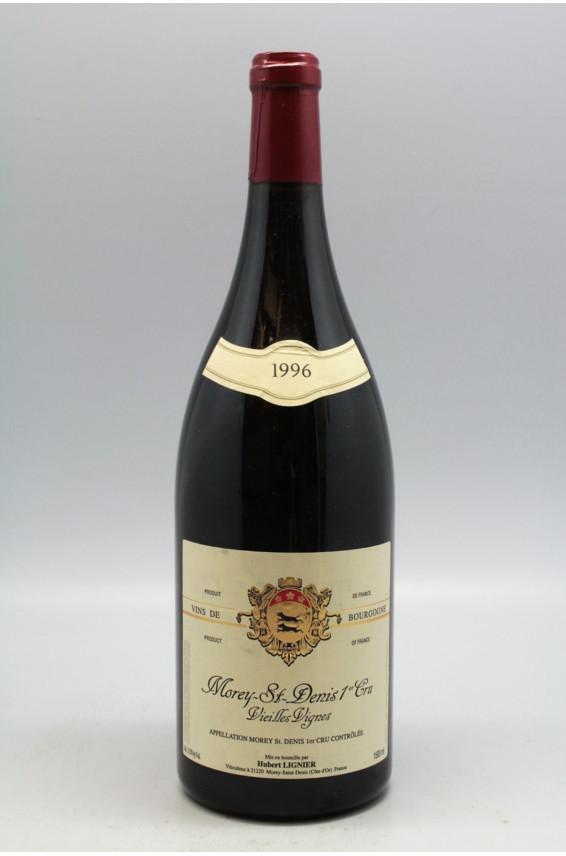 Hubert Lignier Morey Saint Denis 1er cru Vieilles Vignes 1996 Magnum