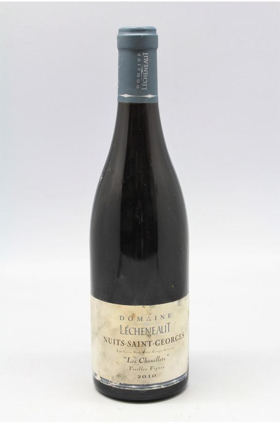 l cheneaut nuits saint georges les chouillets 2010 vieilles vignes 5 discount vins. Black Bedroom Furniture Sets. Home Design Ideas