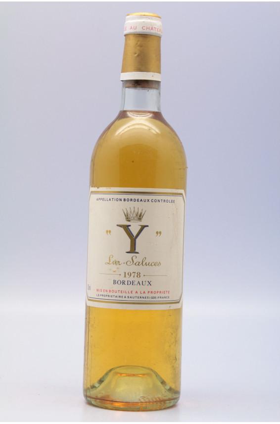 Y d'Yquem 1978