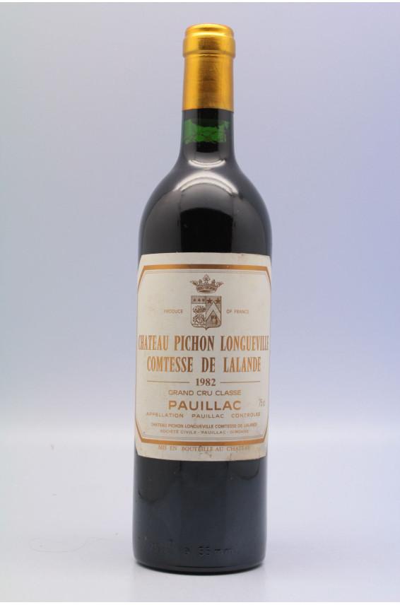 Pichon Longueville Comtesse de Lalande 1982