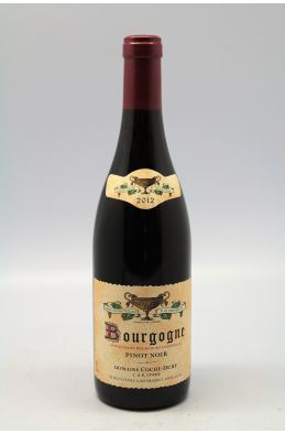 Coche Dury Bourgogne 2012 rouge