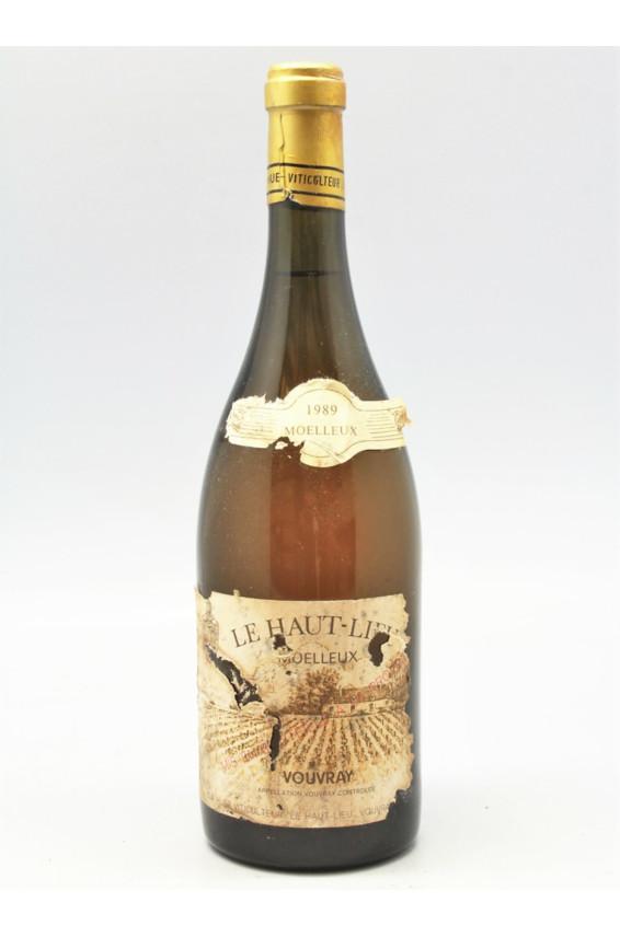 Huet Vouvray Le Haut Lieu Moelleux 1989 - PROMO -10% !