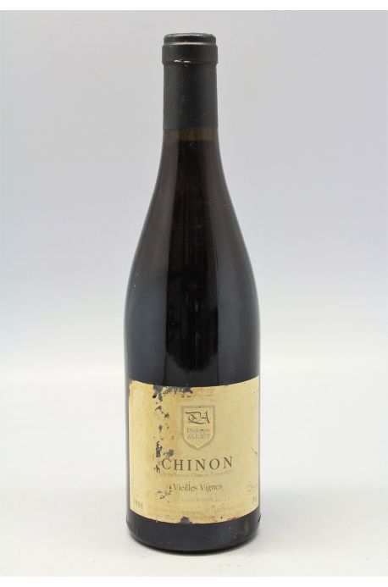 Alliet Chinon Vieilles Vignes 1998 - PROMO -10% !