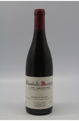 Georges Roumier Chambolle Musigny 1er cru Les Amoureuses 2007