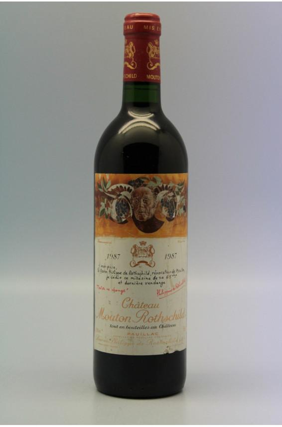 Mouton Rothschild 1987