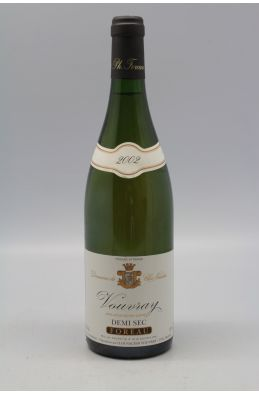 Foreau Clos Naudin Vouvray Demi Sec 2002