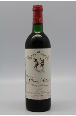 Clerc Milon 1986