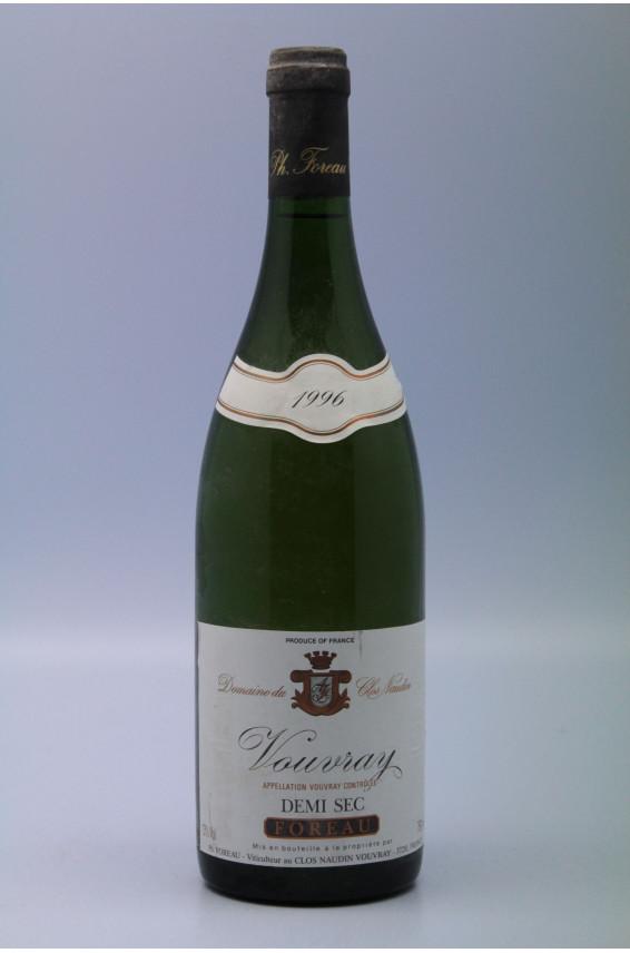 Foreau Vouvray demi-sec 1996