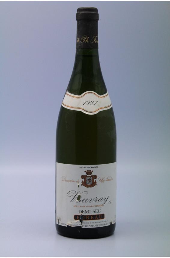 Foreau Vouvray demi-sec 1997