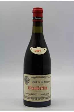 Dominique Laurent Chambertin 2001
