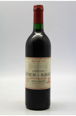 Lynch Bages 1989 -10% DISCOUNT !