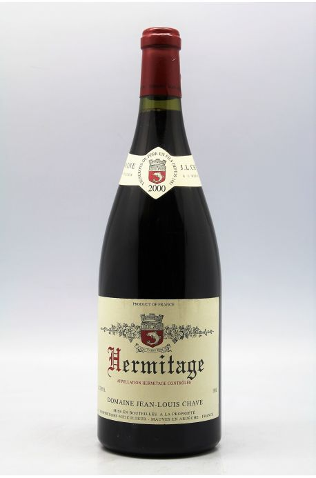 Jean Louis Chave Hermitage 2000 magnum