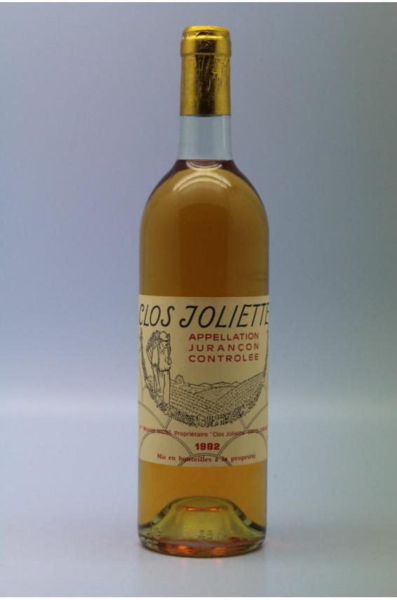 Clos Joliette Jurançon 1982