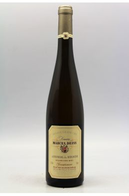 Deiss Alsace Grand cru Gewurztraminer Altenberg de Bergheim Sélection de Grains Nobles 2001