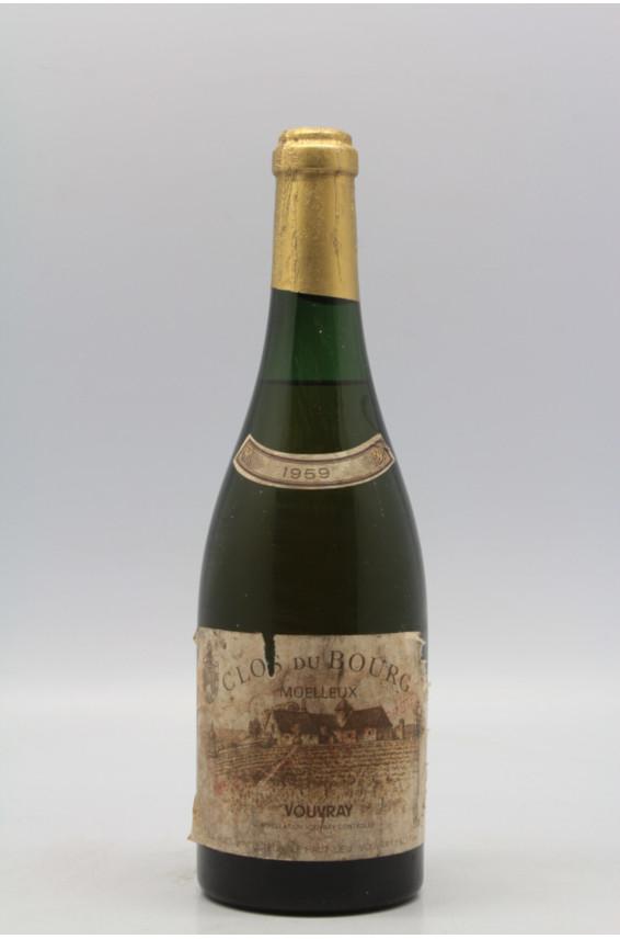 Huet Vouvray Clos du Bourg Moelleux 1959 - PROMO -5% !