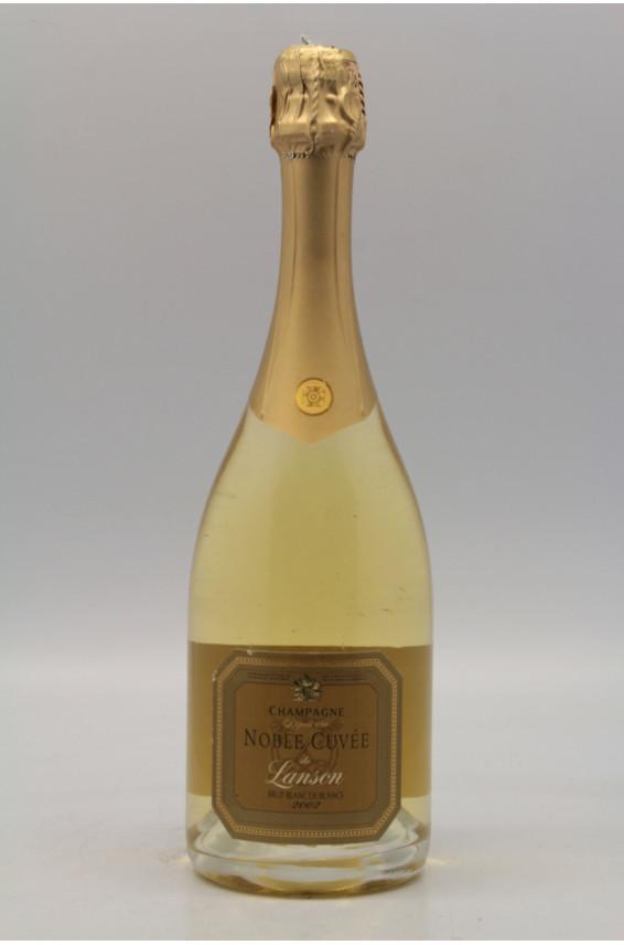 Champagne lanson millesime 2002