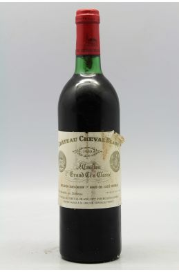 Cheval Blanc 1980 -10% DISCOUNT !