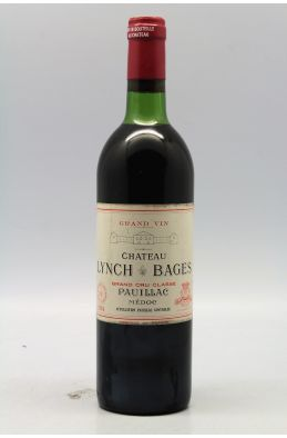 Lynch Bages 1974