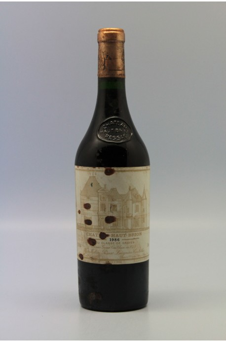 Haut Brion 1986