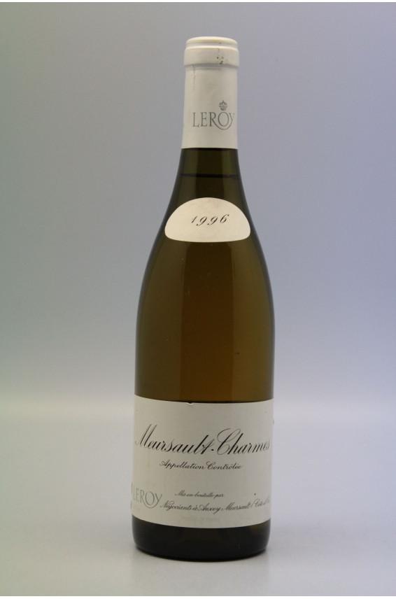 Leroy SA Meursault 1er cru Charmes 1996