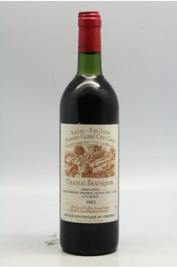 Beauséjour Duffau Lagarosse 1982 - PROMO -5% !
