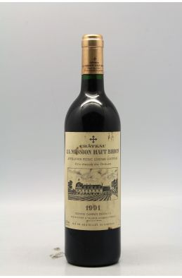 Mission Haut Brion 1991 -5% DISCOUNT !