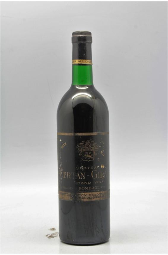 Certan Giraud 1973 - PROMO -5% !