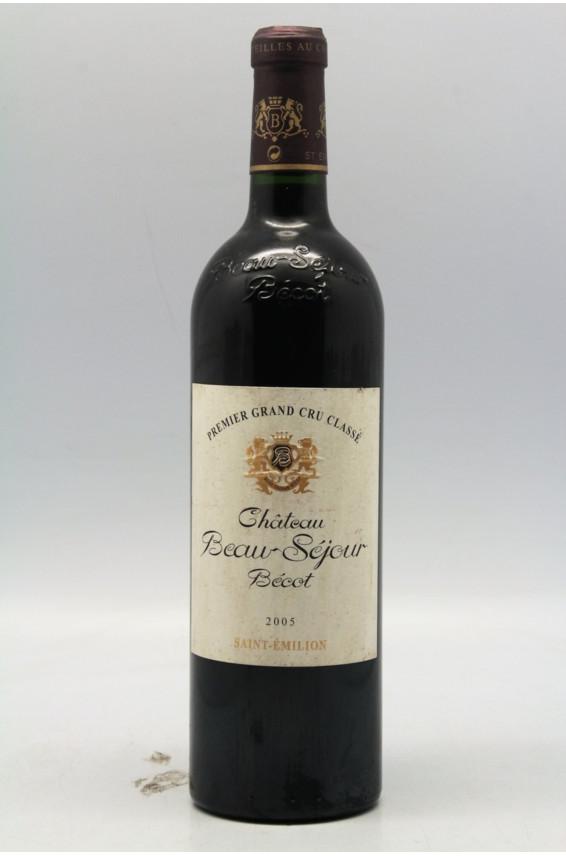Beauséjour Bécot 2005 - PROMO -5% !