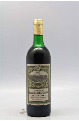 Pavie Macquin 1961 -10% DISCOUNT !