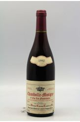 Christian Confuron Chambolle Musigny 1er cru Les Feusselottes 1992