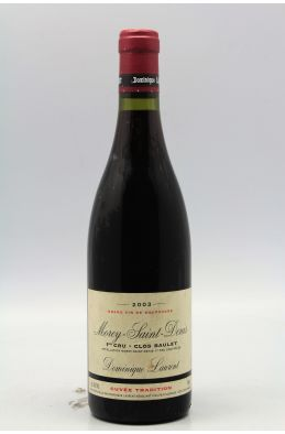 Dominique Laurent Morey Saint Denis 1er cru Clos Baulet 2003
