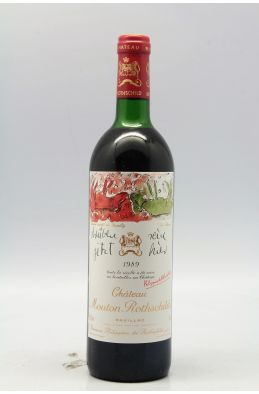 Mouton Rothschild 1989 -10% DISCOUNT !