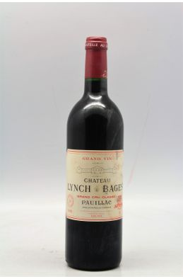 Lynch Bages 1995 -5% DISCOUNT !