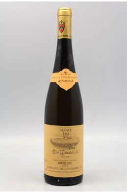Zind Humbrecht Alsace Riesling Clos Windsbuhl 2012