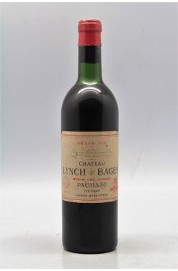 Lynch Bages 1961