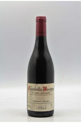 Georges Roumier Chambolle Musigny 1er cru Les Cras 2014 -PROMO -5% !