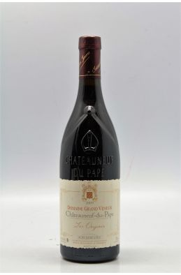 Grand Veneur Chateauneuf du Pape Les Origines 2009