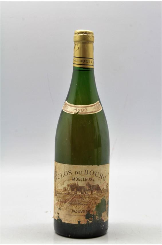 Huet Vouvray Clos du Bourg Moelleux 1988 - PROMO -10% !