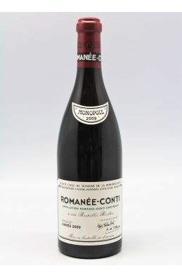 Romanée Conti 2009 Assortment 6 bottles (1 RC, 2 RSV, 3 V)