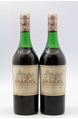 Haut Brion 1970 -15% DISCOUNT !