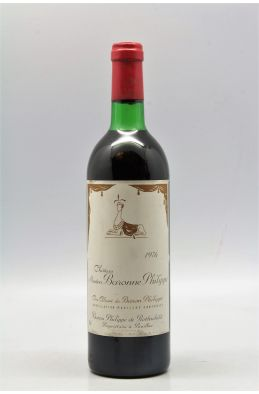 Mouton Baronne Philippe 1976