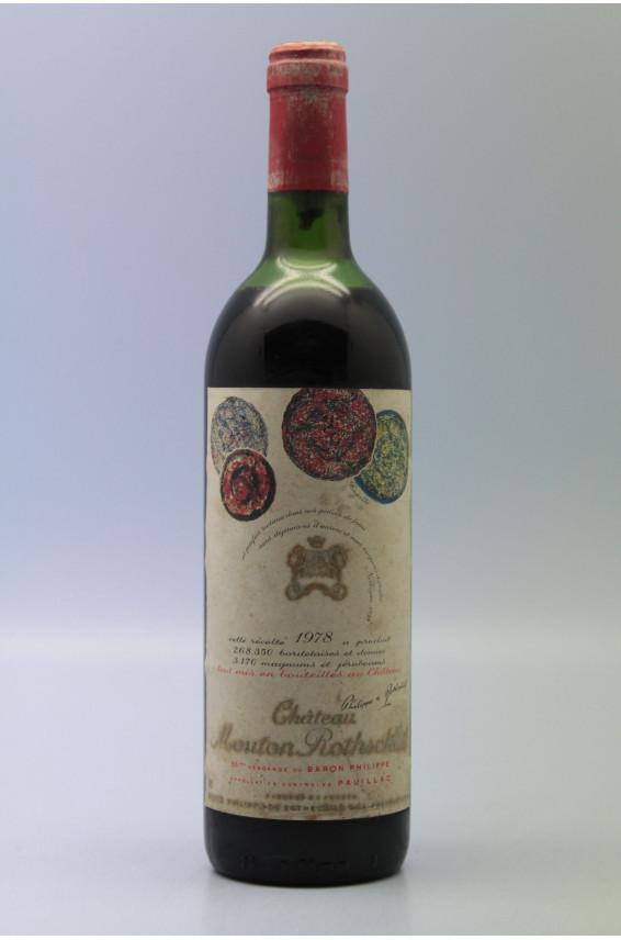 Mouton Rothschild 1978