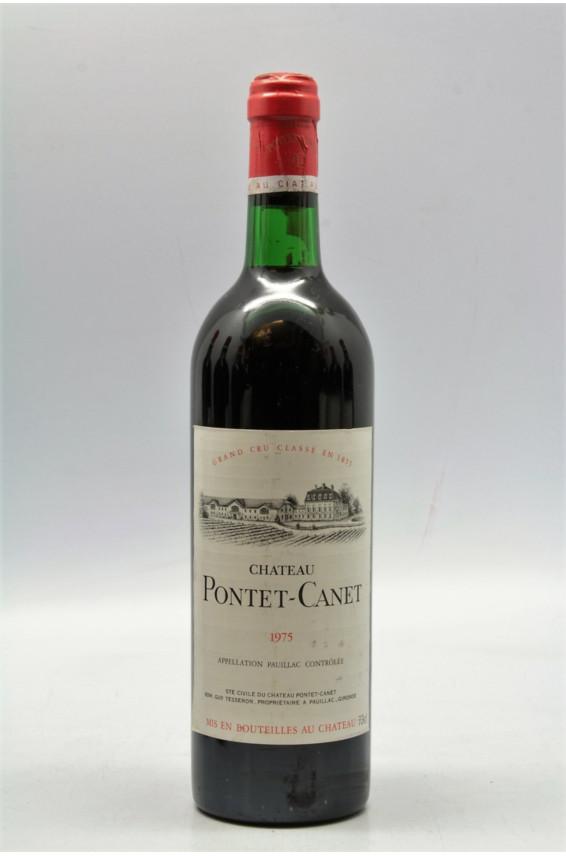Pontet Canet 1975