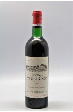 Pontet Canet 1975 -5% DISCOUNT !