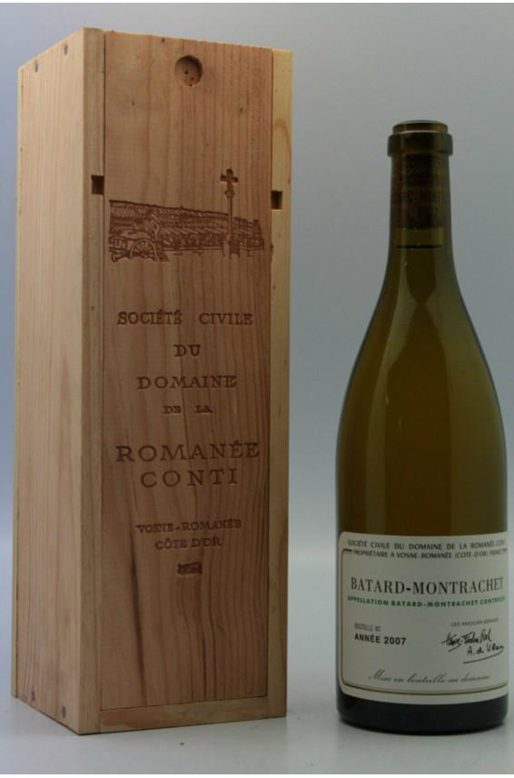 Romanée Conti Batard Montrachet 2007