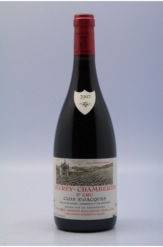 Rousseau Gevrey Chambertin 1er cru Clos Saint Jacques 2007