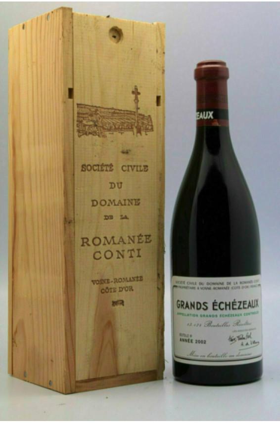 Romanée Conti Grand Echezeaux 2002