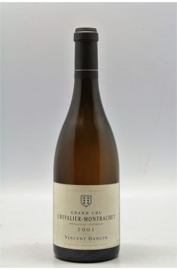 Vincent Dancer Chevalier Montrachet 2001