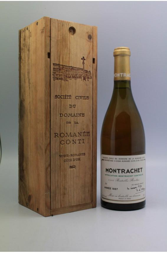 Romanée Conti Montrachet 1987