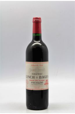 Lynch Bages 1996 -5% DISCOUNT !